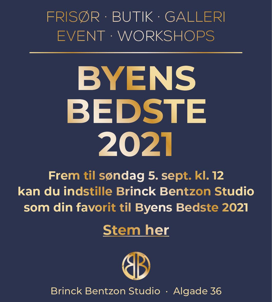 Brinck Bentzon Studio_Byens bedste 2021 favorit frisør middelfart